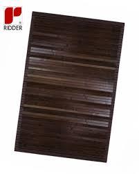 vorleger matten holzvorleger aus bambus 36 5 x 56 5 x 3cm