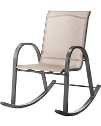 Stack Sling Patio Lounge Chair Tan by Deal Alert Patio Rocking Chair Room Essentials Nicollet Sling