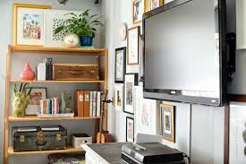 Wall Units Fascinating Shelves Around Tv Floating Flat Screen Wiideb And