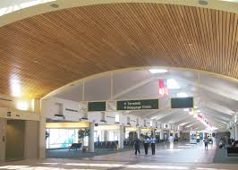 Rulon Suspended Wood Ceilings by Savannah Hilton Head Airport Rulon International Inc