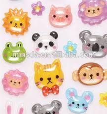 Kids Cute 3D Cartoon Stickers Handwork