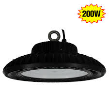 200w high bay led light replace 1000w mh bulb for warehouse garage