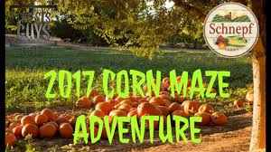 Schnepf Farms Halloween by 2017 Corn Maze Adventure Youtube