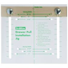 Cabinet Knob Template Printable by Drawer Pull Installation Jig For Aligning Most Drawer Pull