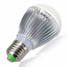watt color changing led light bulb with remote powered