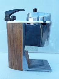 Rare Brasilia Express Travel Coffee Maker With Propane Gas Canister