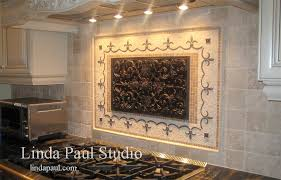 modern tile murals for kitchen and mexican tile murals chili