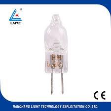 6v 20w g4 base halogen bulb for microprojector 64225 esa