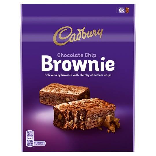 Cadbury Chocolate Chip Brownie 150g