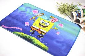 spongebob bath rug rugs ideas