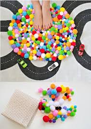 tapis a faire soi meme déco chambre ado fille à faire soi même 25 idées cool deco