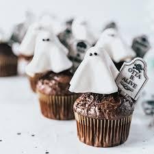 Halloween Cupcakes Baked Yummies Ghost Cupcakes Halloween