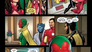 Vision Sends Scarlet Witch Away