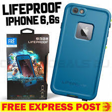 LifeProof Fre for iPhone 6 6s Case Cover Blue Waterproof