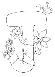 Kids Coloring Page J