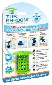 Bathroom Sink Drain Hair Stopper by Tubshroom Revolutionary Hair Catcher Drain Protector For Tub
