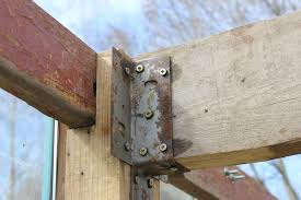 Decorative Angled Joist Hangers by Smallholding The Green Lever Using Minimal Resources For