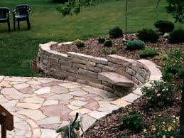Large Stone Retaining Wall With Patio And Sitting Stones | Oasis ... Outdoor Wonderful Stone Fire Pit Retaing Wall Question About Relandscaping My Backyard Building A Retaing Backyard Design Top Garden Carolbaldwin San Jose Bay Area Contractors How To Build Youtube Walls Ajd Landscaping Coinsville Il Omaha Ideal Renovations Designs 1000 Images About Terraces Planters Villa Landscapes Awesome Backyards Gorgeous In Simple