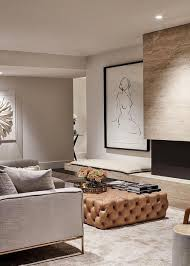 the living room color design is a blend of paint to offer