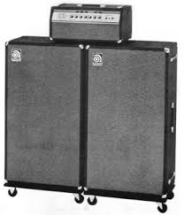 Ampeg V4 Cabinet For Bass by Ampeg History