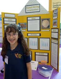 Success Story Student Has Science Fair All Wrapped Up