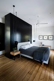 Whats Black And White Modern All Over With Some Original Architectural Features Here Wood BedroomBedroom IdeasDesign