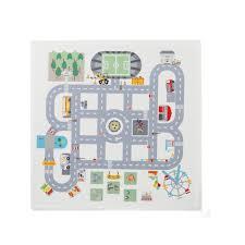 stickers voiture pour chambre garcon sticker plateau de jeu route oxybul pour enfant de 3 ans à 8 ans