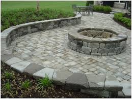 Backyards: Charming Backyard Paver. Backyard Paver Walkway Ideas ... Paver Patio Area With Fire Pit And Sitting Wall Nanopave 2in1 Designs Elegant Look To Your Backyard Carehomedecor Awesome Backyard Patio Designs Pictures Interior Design For Brick Ideas Rubber Pavers Home Depot X Installing A Waste Solutions 123 Diy Paver Outdoor Building 10 Patios That Add Dimension Flair The Yard Garden The Concept Of Ajb Landscaping Fence With Fire Pit Amazing Best Of