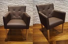 quattro meble breite braun echtleder esszimmerstühle massivholz stühle arm pik lederstühle sessel mit armlehnen echt leder esszimmer stuhl