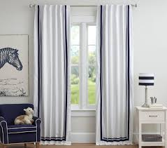 Harper Blackout Curtain| Pottery Barn Kids Decorating Curtains To Block Sunlight And Pottery Barn Blackout Harper Curtain Kids Decor Interesting For Interior Help With Blocking Any Sort Of Temperature Drapes Navy White Eyelet Border West Elm Black Put Unique 96