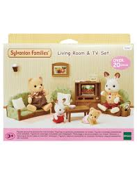 Sylvanian Families Living Room Tv Set Product Photo