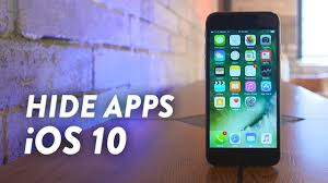How to hide Apps in Iphone 5S without any software Latest IOS