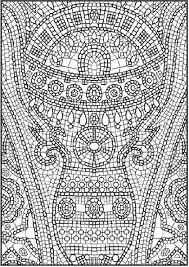 Adult Coloring Pages Math Free Mosaic For Kidsfree