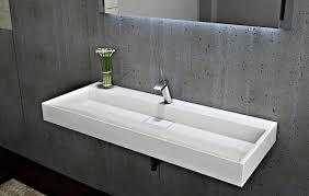 lavabo mural lavabo à poser en marbre artificiel bs6001 blanc