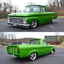 63 Ford F100 Unibody Dream Car Garage Pinterest Concept Of 63 Ford Truck