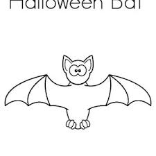 Halloween Bats Coloring Page