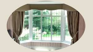 Living Room Curtain Ideas For Bay Windows by Window Bay Windows Curtains Curtain Rod For Bay Window Bay