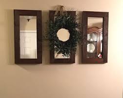 Three 28 X 14 Mirrors
