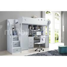 lit mezzanine 1 place bureau integre lit mezzanine avec bureau ikea agrandir gain de place with lit