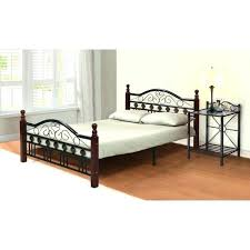 Wrought Iron King Headboard And Footboard by Black Metal Headboard And Footboard Queen King Size Wood Wrought