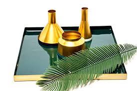 dekoration dekoration vase töpfe gold deko metallvase 3er