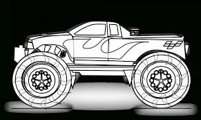 Monster Truck Coloring Pages   Free Coloring Pages Coloring Pages Monster Trucks With Drawing Truck Printable For Kids Adult Free Chevy Wistfulme Jam To Print Grave Digger Wonmate Of Uncategorized Bigfoot Coloring Page Terminator From Show For Kids Blaze Darington 6 My Favorite 3