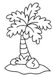 Lovely Palm Tree Coloring Page 35 On Books With