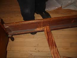 Fleas Live On Wood Floors by Photos Of Bed Bugs In A Wooden Bed Frame Head Board And Box Spring