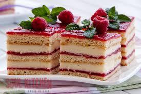 Vanilla Wedding Cake With Raspberry Filling Vanilla cream raspberry holiday sheet cake recipe