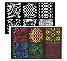 Color Escapes Adult Coloring Kit Geometric