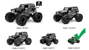 100 Grave Digger Rc Monster Truck New Bright FF 4x4 Jam Mini RC Car 143 Scale
