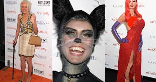 Heidi Klum Halloween 2011 by Celebs Who Mixed Business With Pleasure
