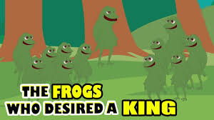 100 King Of The Frogs Moral Story For Kids In English Who Desired A Animal Jungle Story