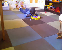 Peel And Stick Carpet Tiles Cheap by Muted Playroom Floor Really Like The Different Colors Carpet